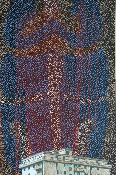 Dream 1, Akryl auf Leinwand, 40 x 60 cm, 2016