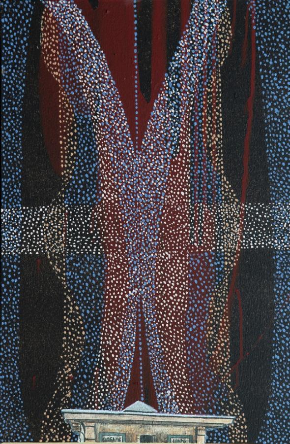 Dream 2, Akryl auf Leinwand, 40 x 60 cm, 2016