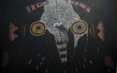 Looking for a new Religion I, Akryl auf Leinwand, 120 x 190 cm, 2015