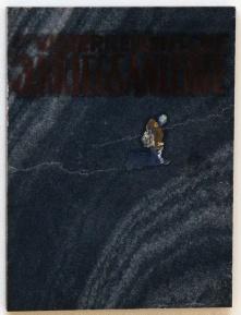 Serie Kriegsanleihe, Öl auf Marmor, ca. 35 x 40 cm, 2014