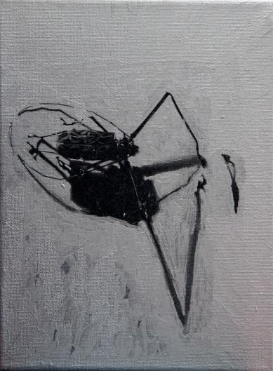 Serie Digital Adventures Die Insekten 1, Mixed Media, 24 x 28 cm, 2016