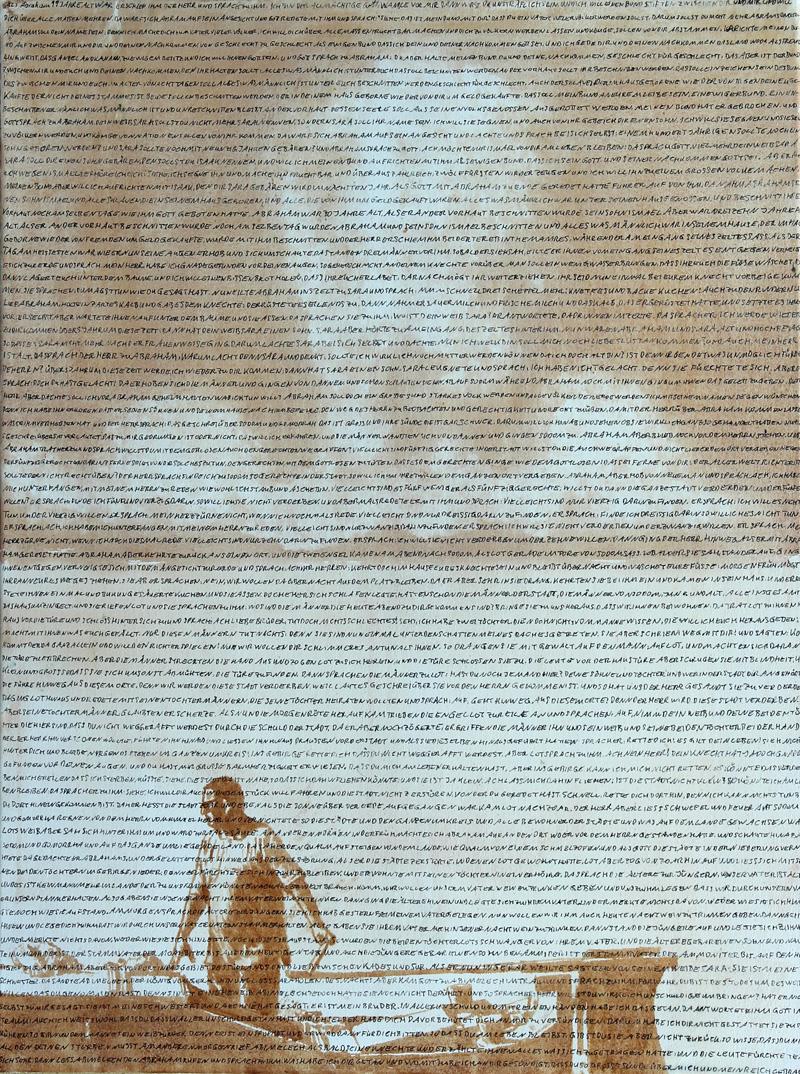 Und Gott sprach 3, Akryl auf Leinwand, 60 x 80 cm, 2016