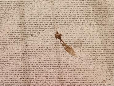 """Das alte Testament""2, 60x40cm,Acryl/Tinte auf Lw,GFK 2017"